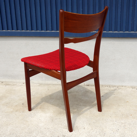 チーク椅子 北欧アンティーク