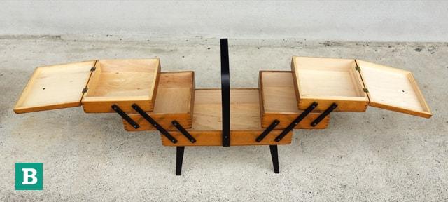 木製ソーイングボックスB
