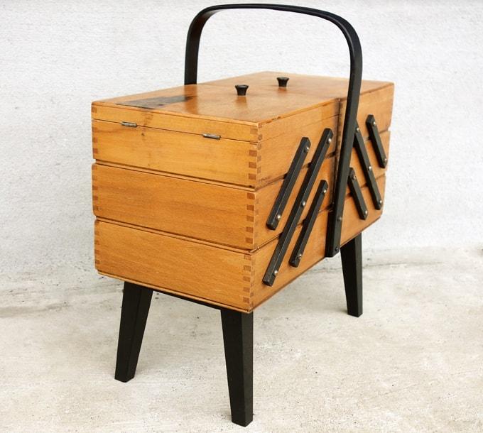 ビンテージ裁縫箱