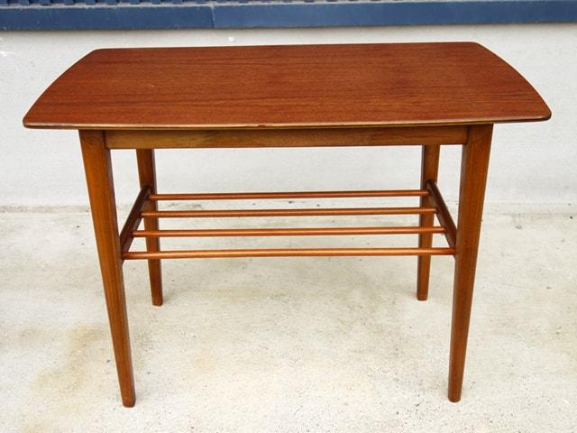 チーク サイドテーブル 北欧家具