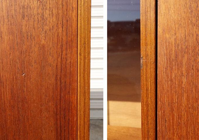 木製扉 表面