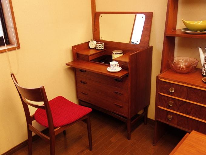 鏡台ドレッサー 北欧ビンテージ家具