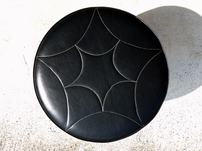 北欧ビンテージ椅子 丸スツール
