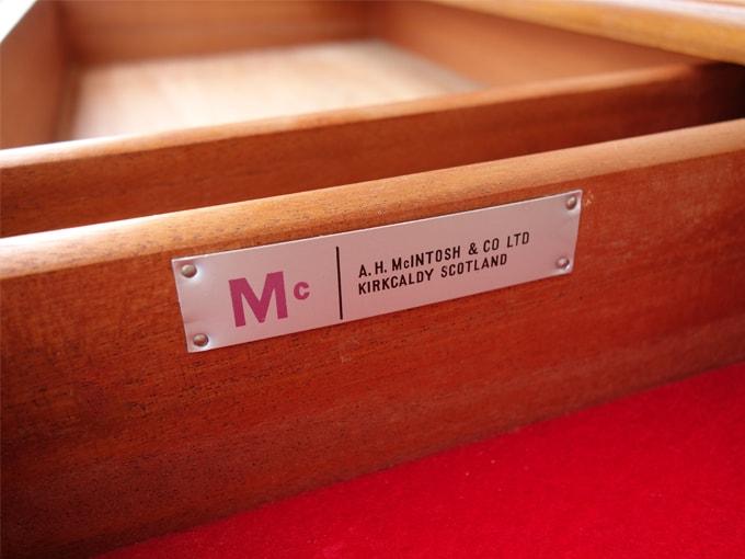 MacIntosh家具 ラベル