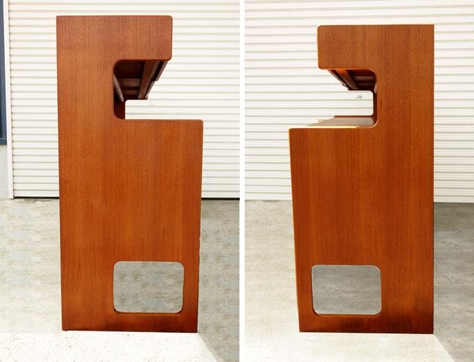 サイドボード側面 ビンテージ家具