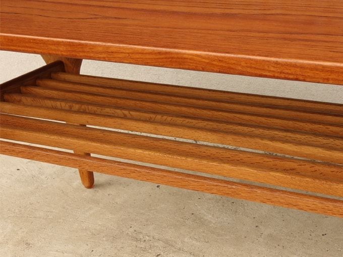 デンマーク コーヒーテーブル棚板