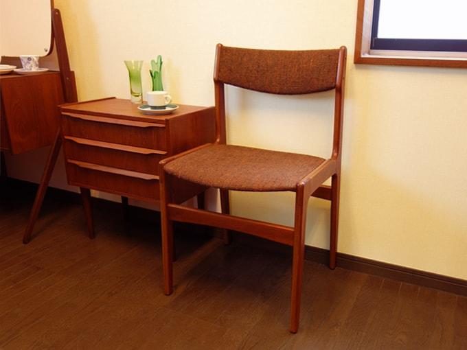 北欧椅子 木製ビンテージチェア