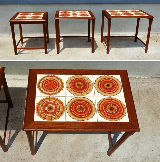 サイドテーブル3個セット L