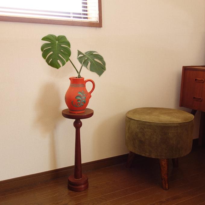 木製プラントスタンド ビンテージ家具