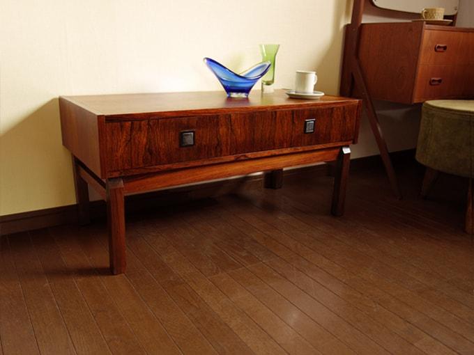 ローズウッドのチェスト 北欧ビンテージ家具