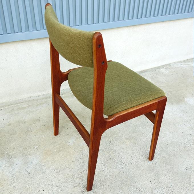 北欧ヴィンテージ椅子 グリーン
