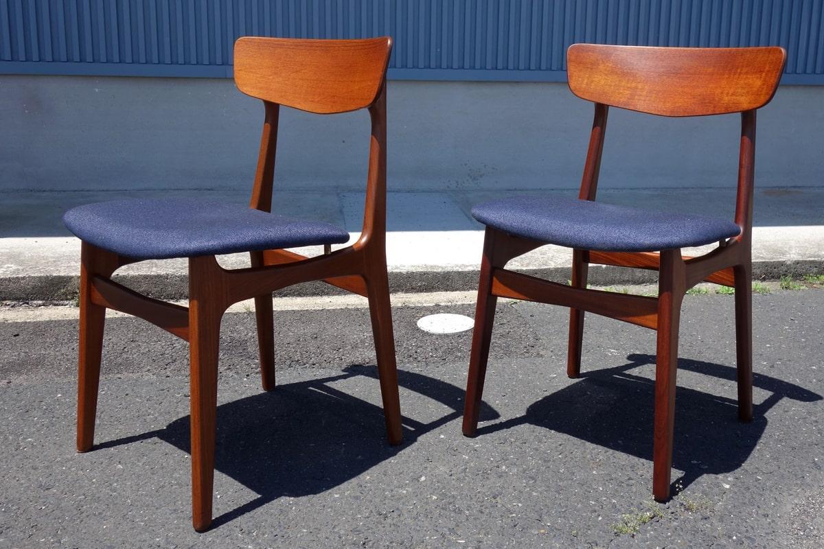 北欧ヴィンテージ椅子2脚