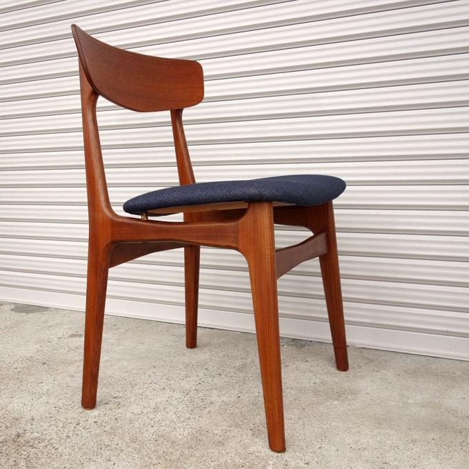 北欧ヴィンテージ椅子 紺色