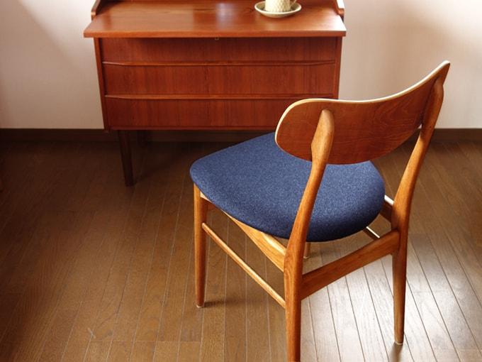 温かみのある北欧ヴィンテージの椅子