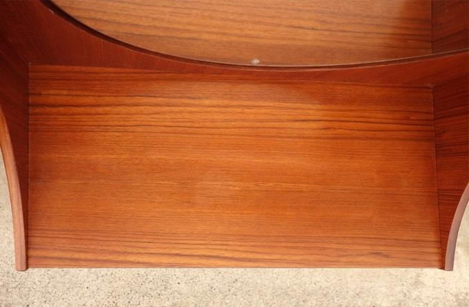 ビンテージ木製ドレッサー天板