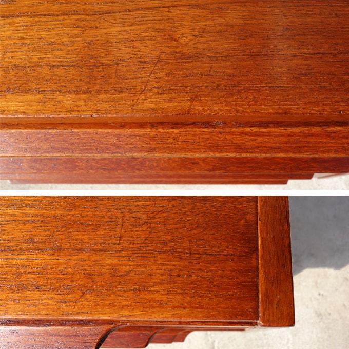 ヴィンテージ木製チェスト 状態
