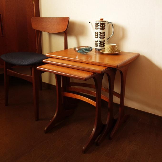 G-PLANネストテーブル ヴィンテージ家具