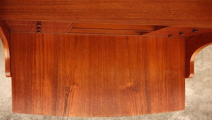 ヴィンテージ木製ビューロー デスク板