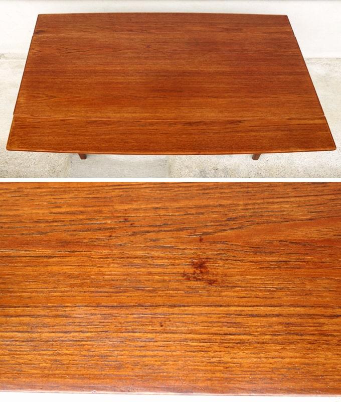 ヴィンテージ木製エレベーターテーブル 状態