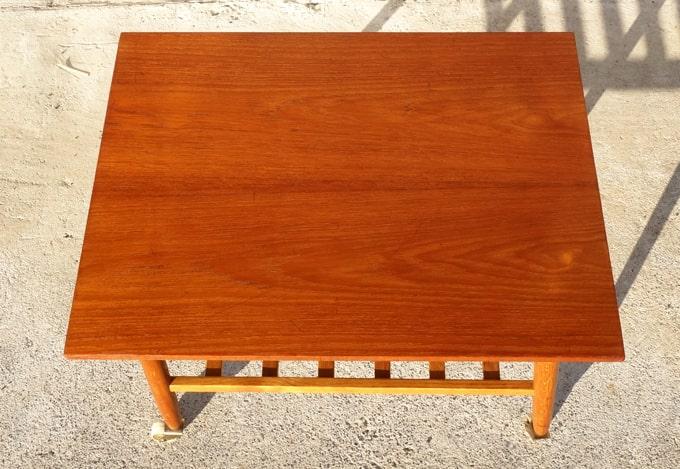 木製サイドテーブル 天板