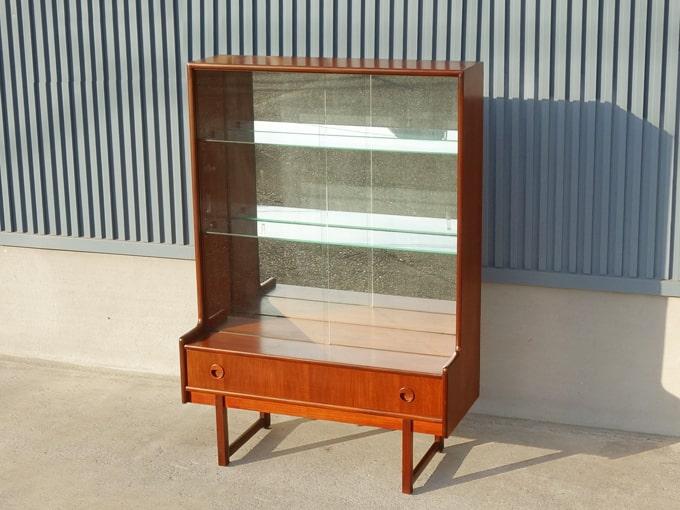 ガラス戸棚 イギリスヴィンテージ家具
