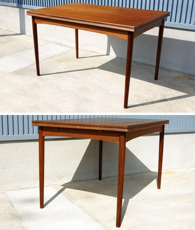 デンマークのダイニングテーブル ビンテージ