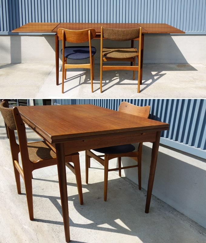 デンマーク家具 ダイニングテーブル