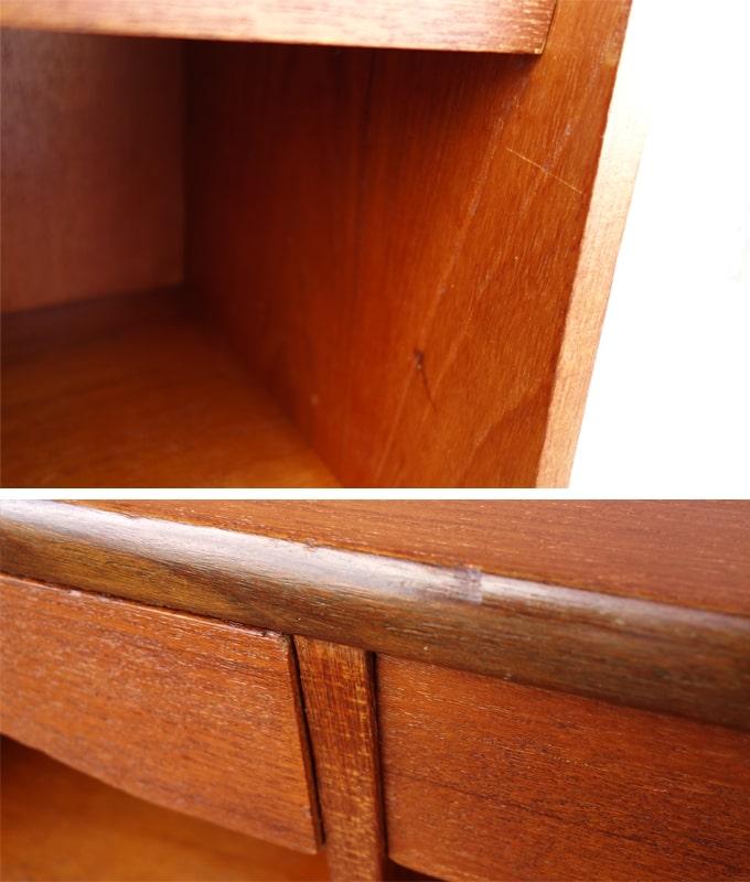 ヴィンテージ木製ビューロー コンディション