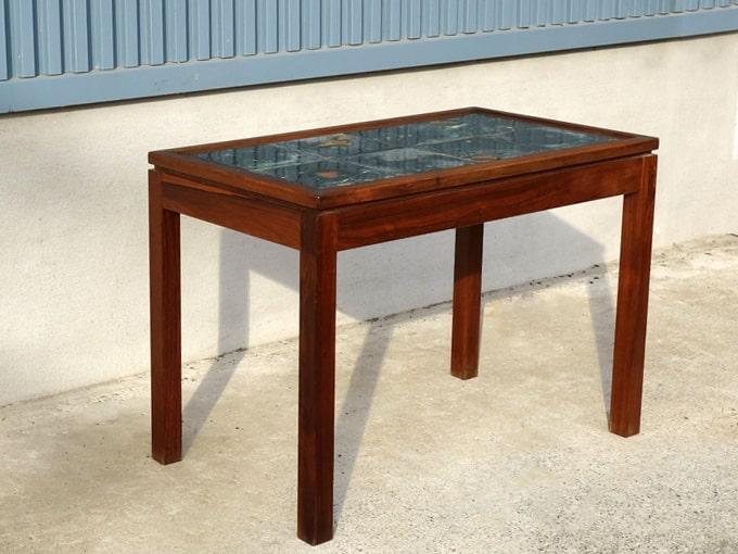 タイルトップテーブル 北欧ビンテージ
