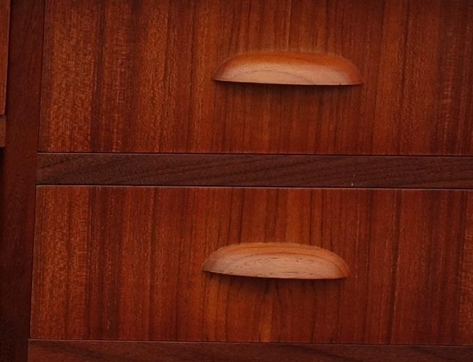 デスク木製持ち手