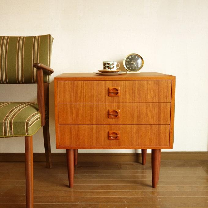 北欧ヴィンテージチェスト 小さい家具