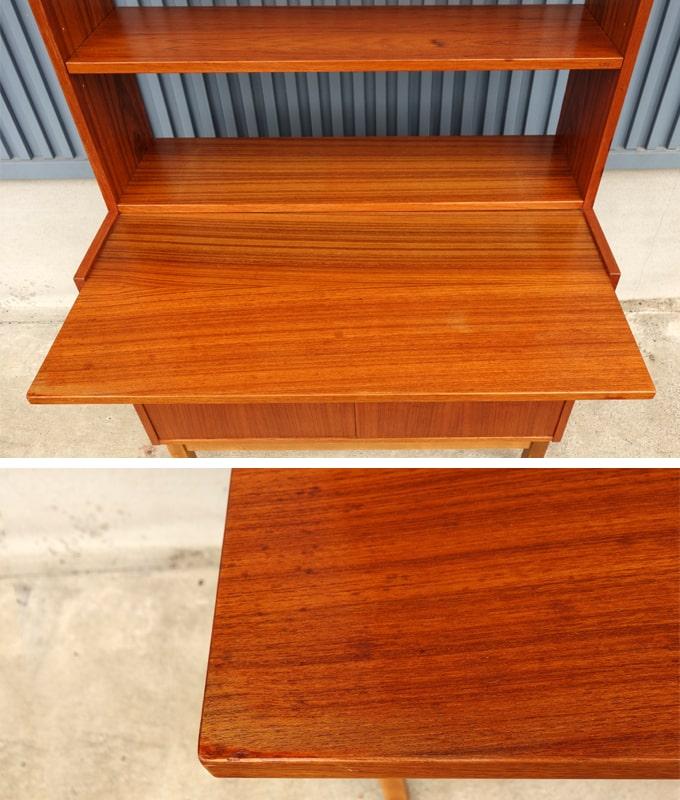 ヴィンテージ棚ビューロー テーブル板