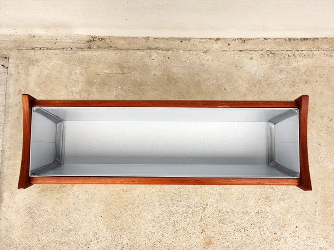 北欧ヴィンテージプランター ブリキ製ボックス