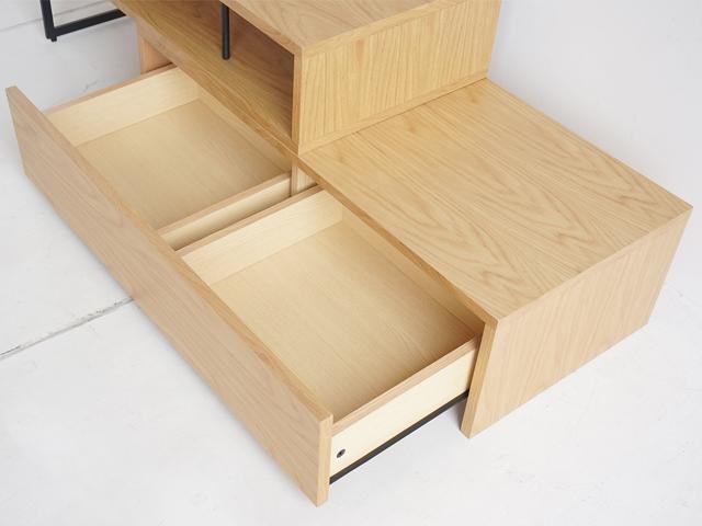 木製テレビ台 ナチュラル