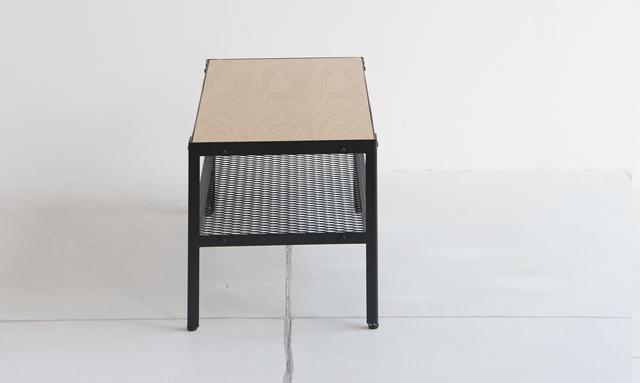 ローテーブル オーク天板