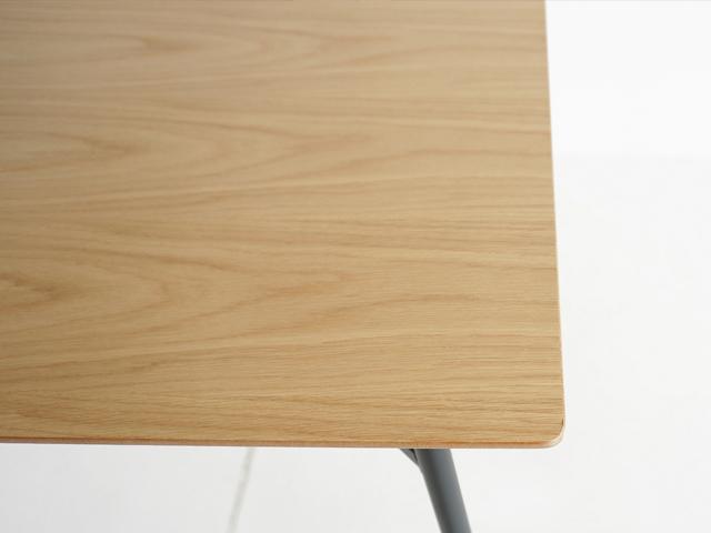 オーク天然木 小さめダイニングテーブル