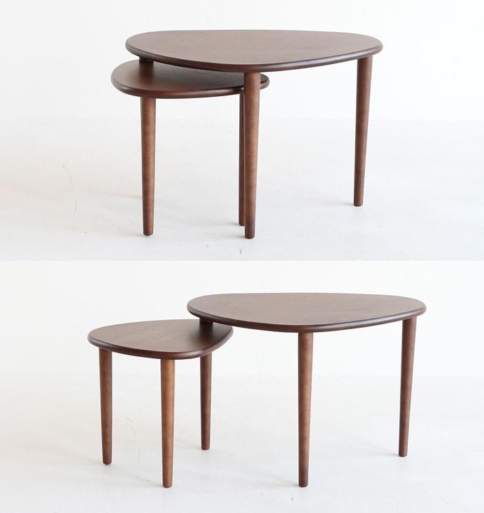 木製スイングテーブル