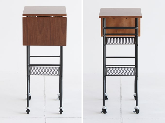 折り畳み式キッチンワゴン