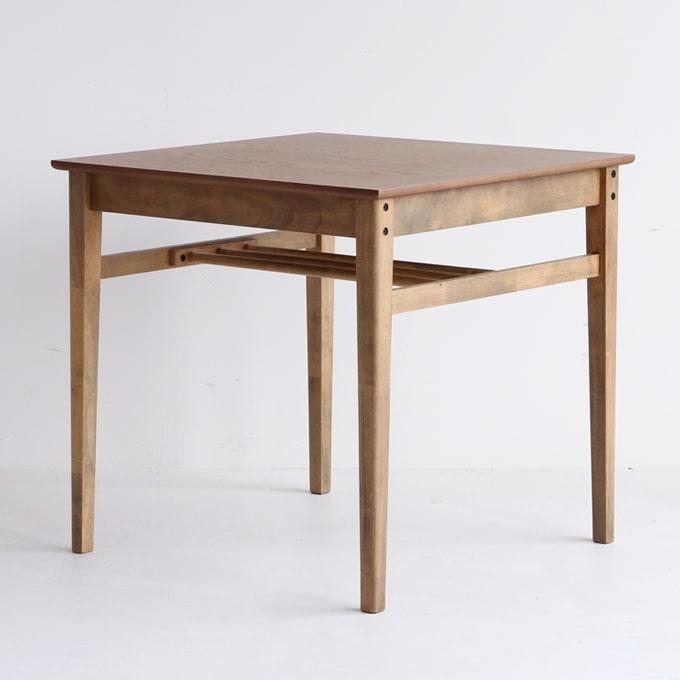 小さいダイニングテーブル75X75cm