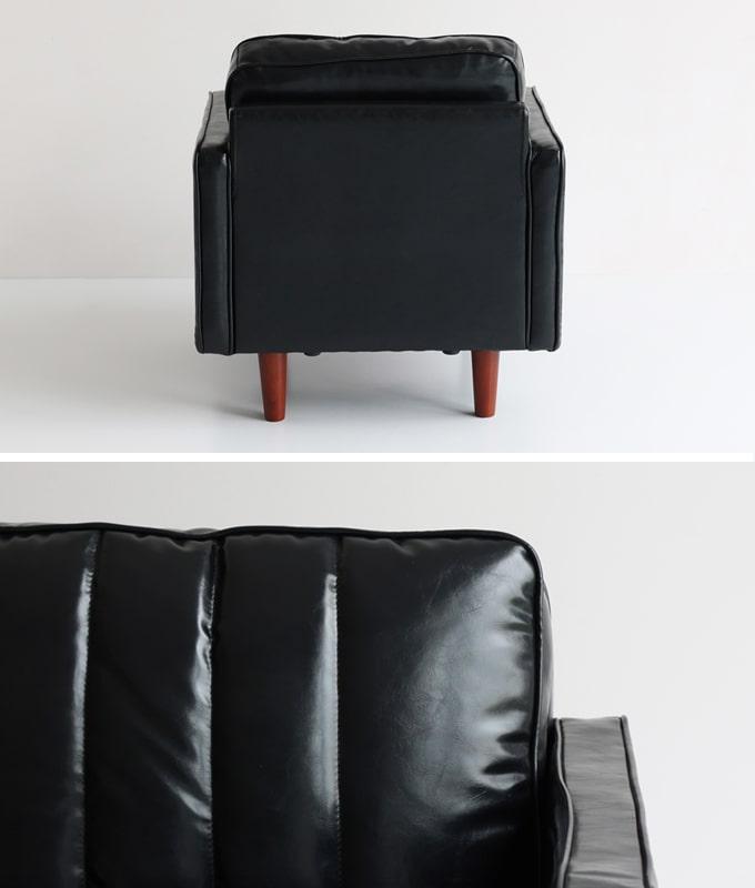 1人掛けソファ背面