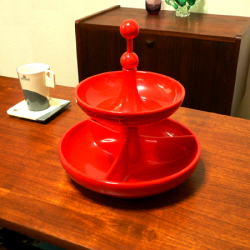 tw0260オランダの赤いフォンデュ鍋セット