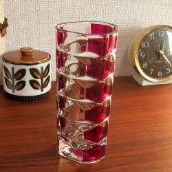 ac0188Bavariaモダンな白い陶器の花瓶*amber design*北欧家具やビンテージ雑貨等のインテリア通販