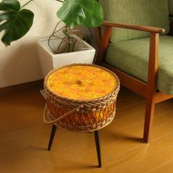 ft0269モザイクタイルトップミニテーブル*amber design*北欧家具やビンテージ雑貨等のインテリア通販