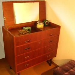 ft0251デンマークの6段チェスト*amber design*北欧家具やビンテージ雑貨等のインテリア通販