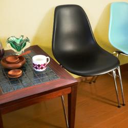 ft0221イームズサイドシェルチェアDSSブラックvitra製*amber design*北欧家具やビンテージ雑貨等のインテリア通販