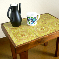 tw0222オランダ製レトロな陶器シュガーポット*amber design*北欧家具やビンテージ雑貨等のインテリア通販