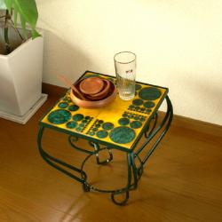 ft0236レトロなミニテーブル2個セット*amber design*北欧家具やビンテージ雑貨等のインテリア通販