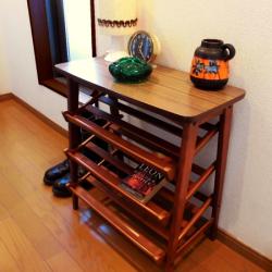 ac0179オランダの陶器オレンジ色灰皿*amber design*北欧家具やビンテージ雑貨等のインテリア通販