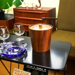 ac0221オランダのソーイングバスケット*amber design*北欧家具やヴィンテージ雑貨等のインテリア通販