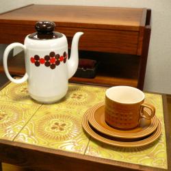 ac0190オランダのオレンジ系テーブルライナー